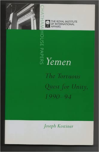 Yemen: The Tortuous Quest for Unity, 1990-94 (Chatham House Papers)