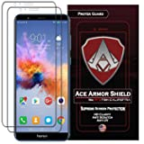 Huawei Honor 7X (2-Pack) Ace Armor Shield Full Coverage Screen Protector Clear Anti Scratch Bubble free Shield