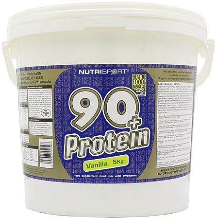 Nutrisport 90 + Protein Vanilla 5000g
