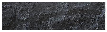 mySPOTTI  251065 profix Schiefer, Kuchenruckwand, 220 x 60 cm