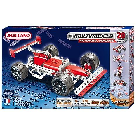 Meccano - 6023648 - Jeu De Construction - Formule 1 - 20 Modèles Motorisés