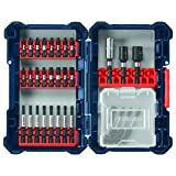 Bosch SDMS32 32 pc. Impact Tough Screwdriving Custom Case System Set (Color: 32pc)