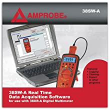 Amprobe 38SW-A Software and Cable for 38XR-A Multimeter