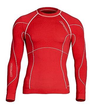 Herren Funktionsunterwäsche Kompression Langarm T-shirt Gym Baselayer Trainieren