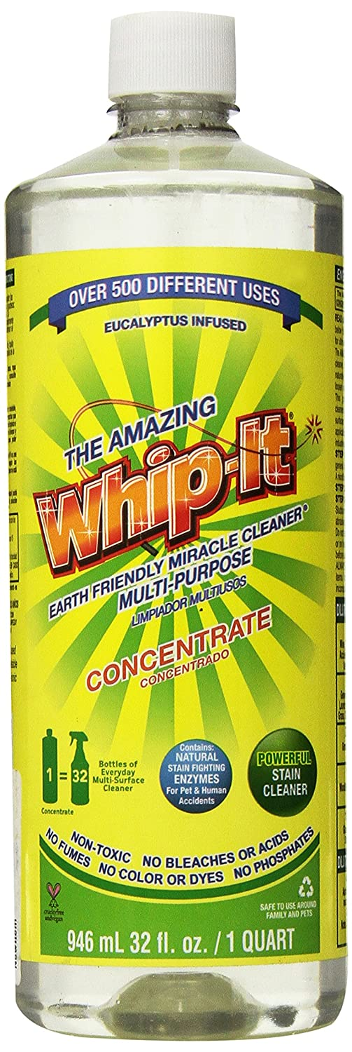 Amazon.com: Whip-it Concentrate Multi-Purpose Stain Remover 32oz ...