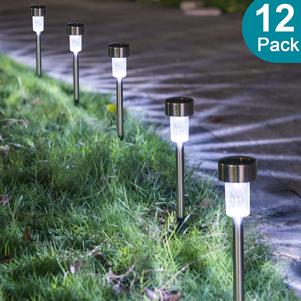 Solar Powered Pathway Lights