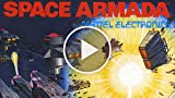 Classic Game Room - SPACE ARMADA Review For IntelliVision