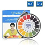 pH Test Strips, Jellas Universal pH Test Paper Strips Roll, pH Measure Range of 0-14 (5M/16ft). (Color: 1 Pack-pH Test Strips)