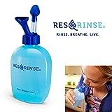 Res-Q-Rinse Nasal Rinse System - The New Neti Pot - Sinus Irrigation Without The Gag (Tamaño: Nasal Rinse System)