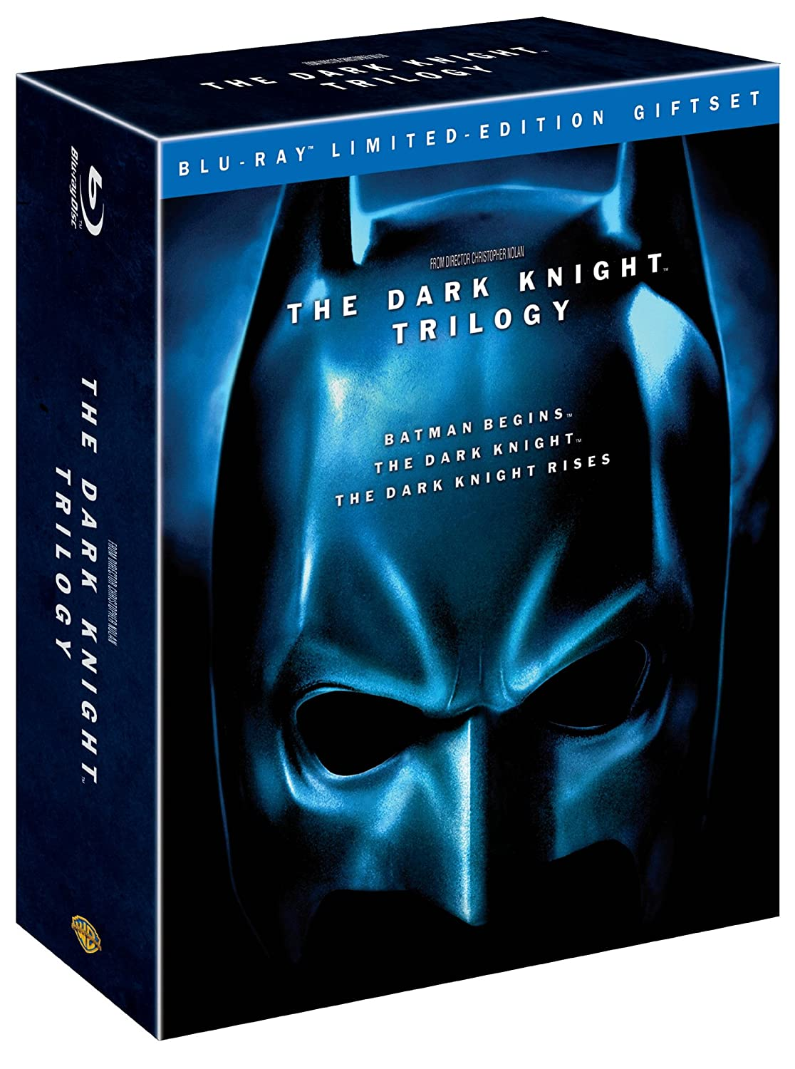 The Dark Knight Trilogy (Batman Begins / The Dark Knight / The Dark Knight Rises) [Blu-ray] $24.99
