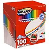 RoseArt SuperTip Assorted Color Washable Markers 100-Pack (Color: Assorted, Tamaño: 100-pack)