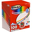 100-Pack RoseArt SuperTip Assorted Color Markers