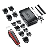Andis Easy Cut 20-Piece Haircutting Kit, Red/Black (75360) (Color: Red/Black, Tamaño: NO SIZE)
