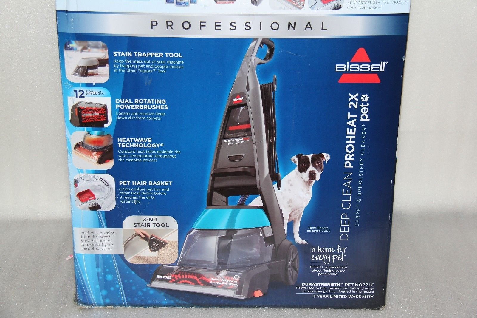 Bissell Proheat 2x Professional Pet Carpet Cleaner