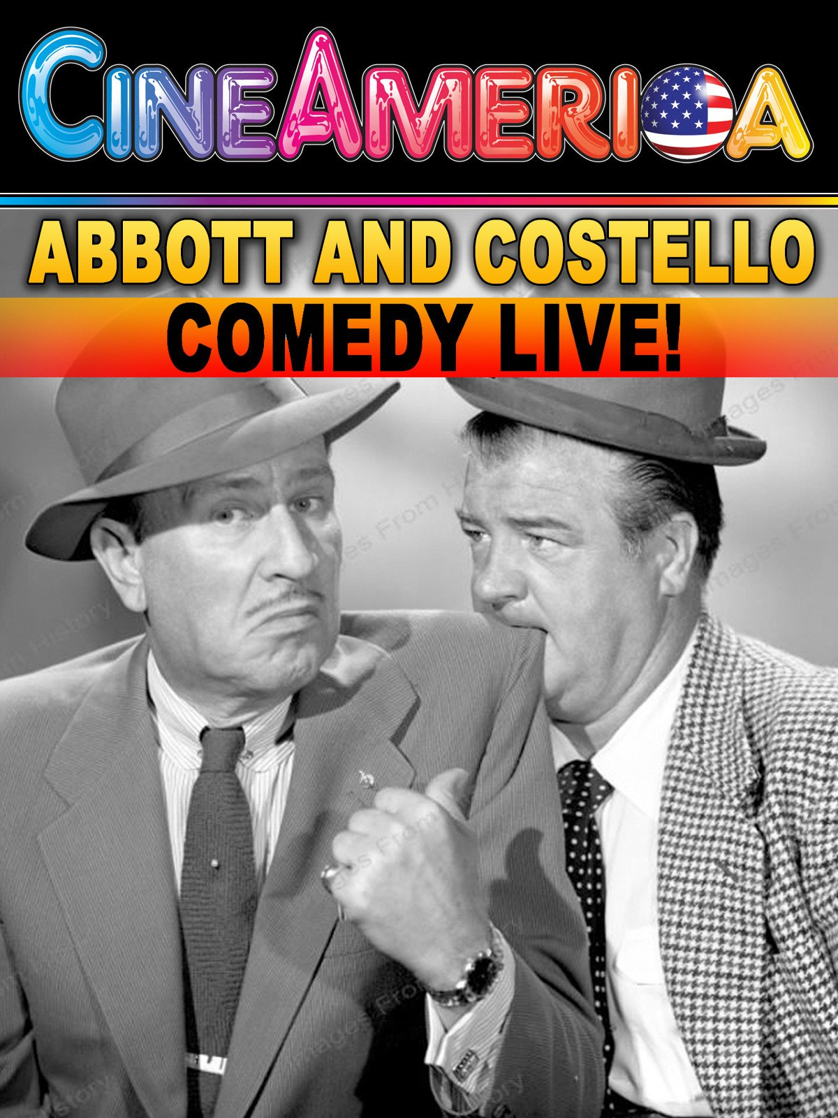 Abbott and Costello Comedy Live!
