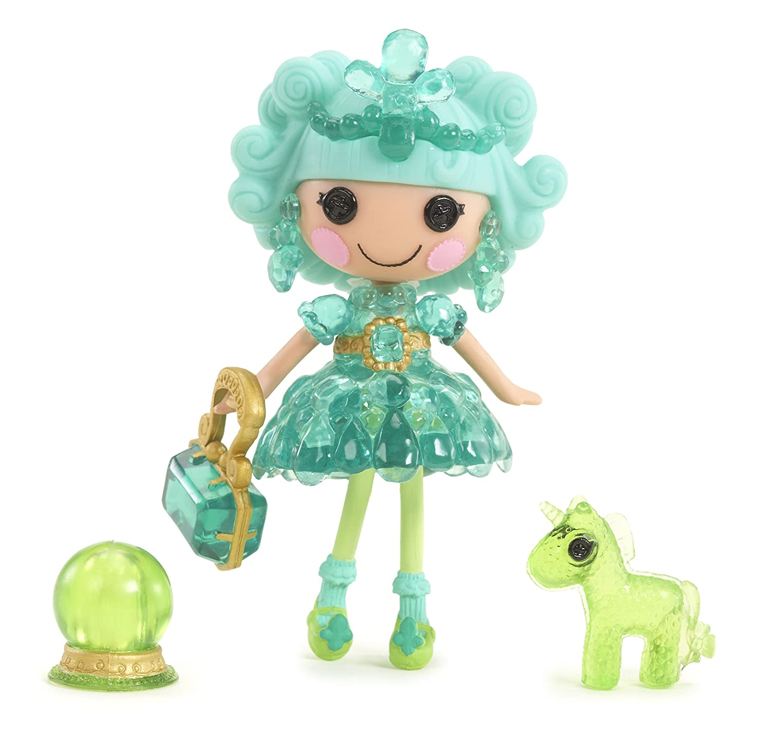 Mini Lalaloopsy Doll- Clarity Glitter Gazer