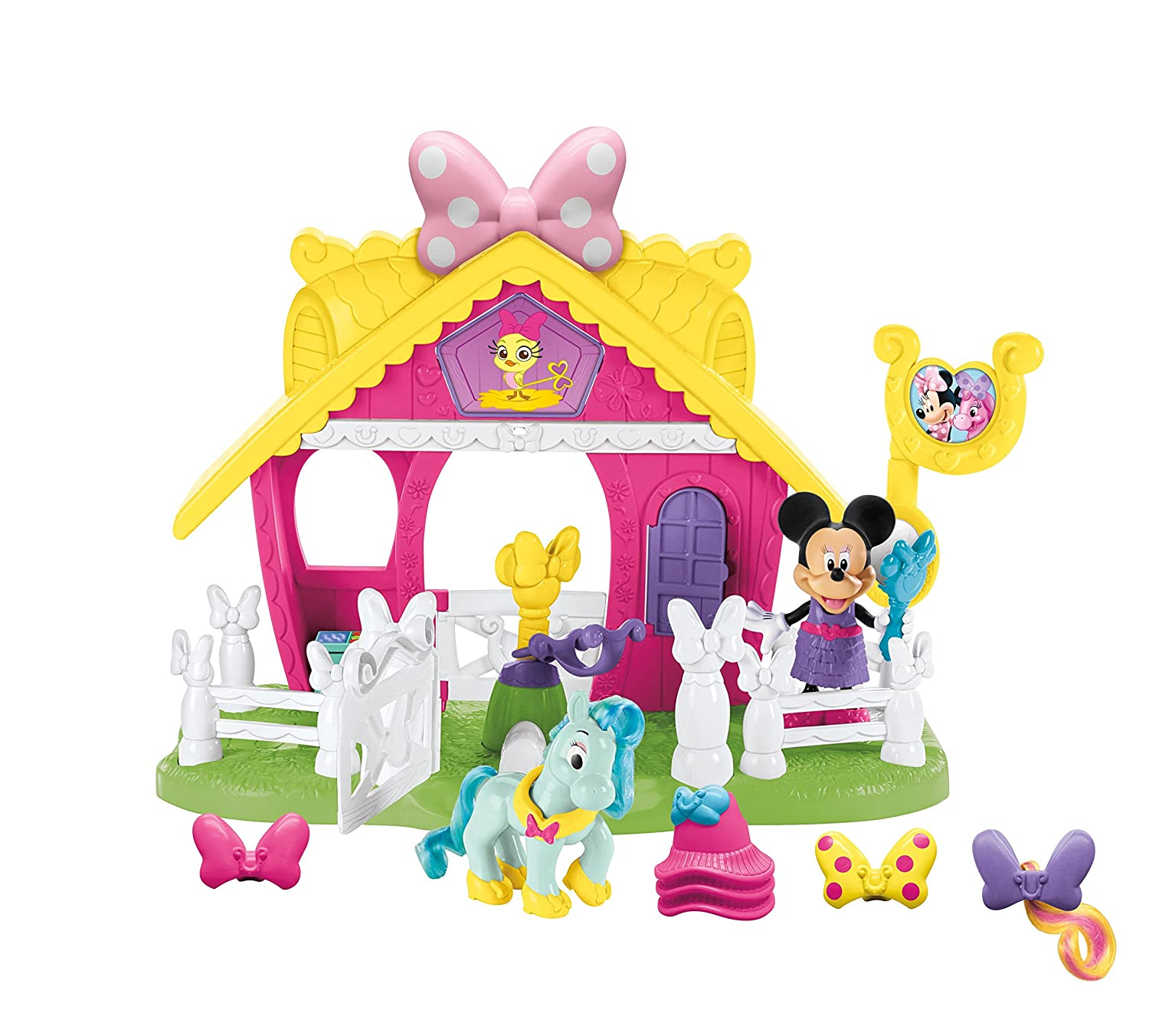 Fisher Price Minnie Jump n Style Pony Stable