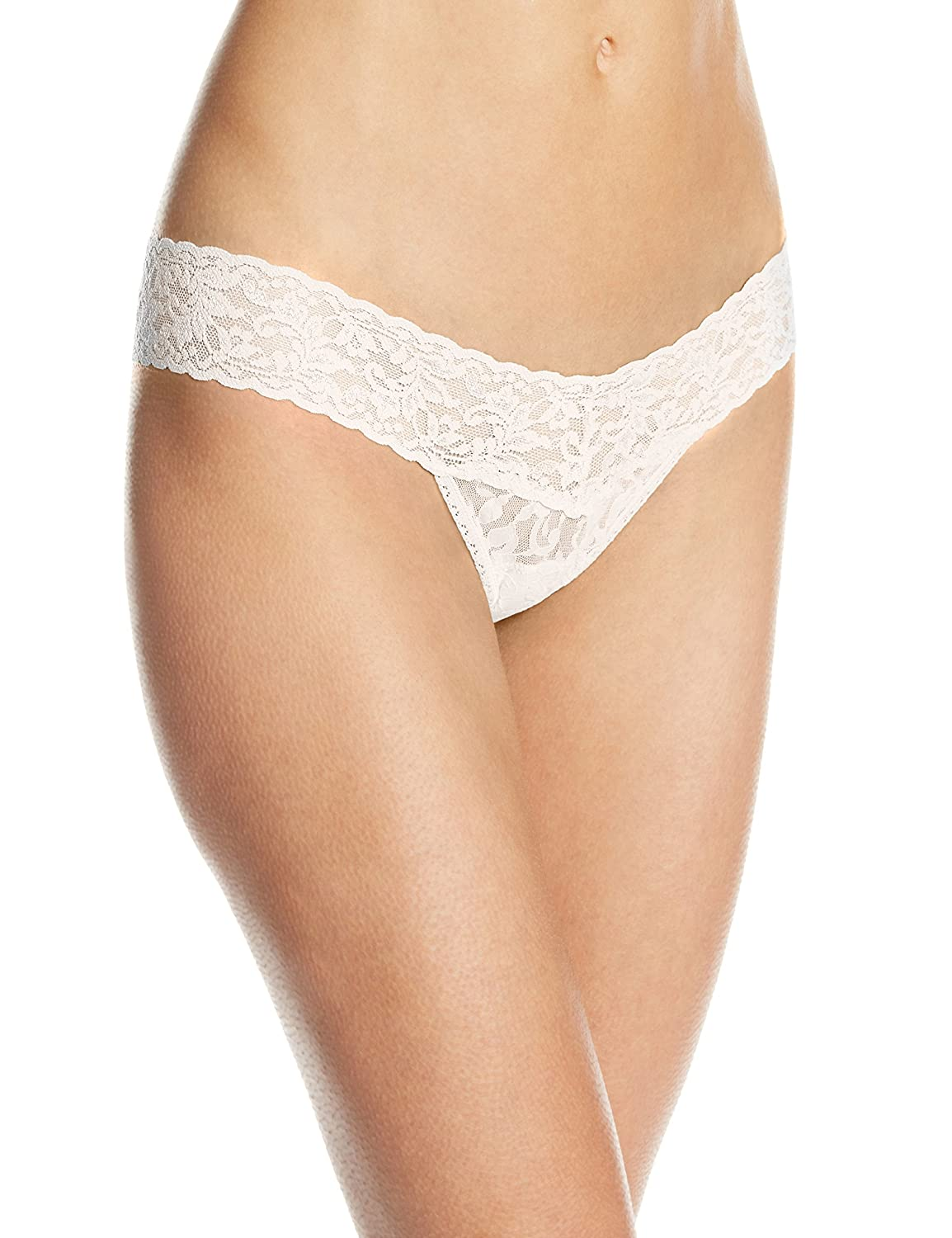 Hanky Panky – Low Rise Signature Lace – String – Creme kaufen