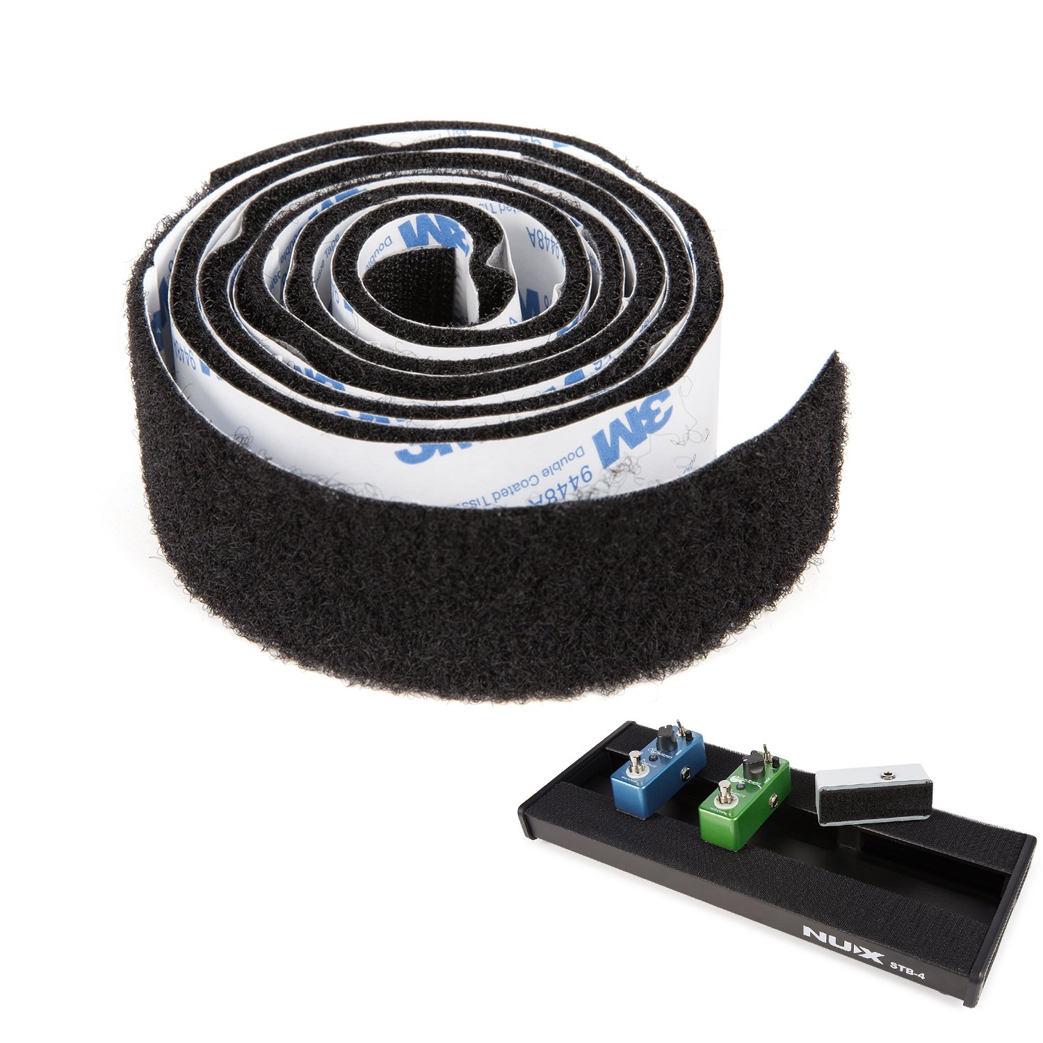 Donner Pedalboard Velcro Guitar Pedal Mounting Tape Length 1m