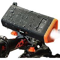 Kmashi USB Bike Headlight w/4800mAh Power Bank