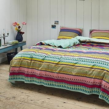 vanezza bettw sche 135x200 80x80cm 100 baumwolle flanell efie mint de88. Black Bedroom Furniture Sets. Home Design Ideas