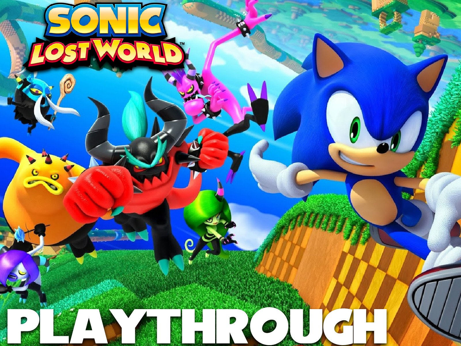 Clip: Sonic Lost World Playthrough