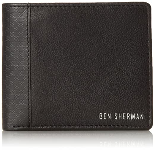 Ben Sherman Men's Gingham Emboss Billfold