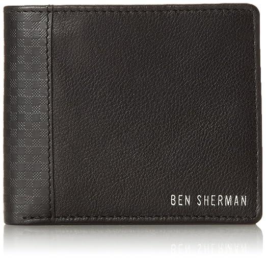 Ben Sherman Men's Gingham Emboss Billfold