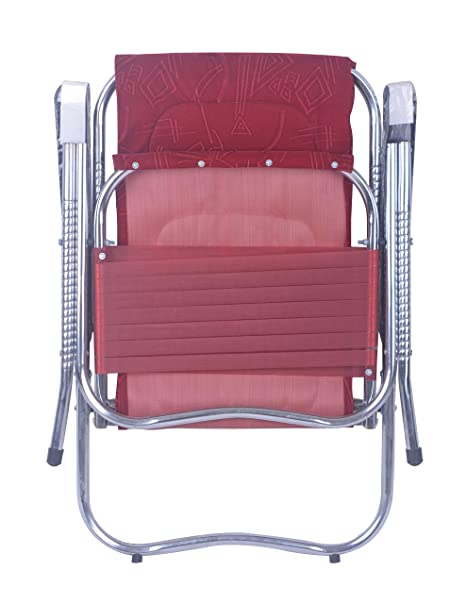 Folding Chair Easy To Carrier For Outdoor Use Maroon