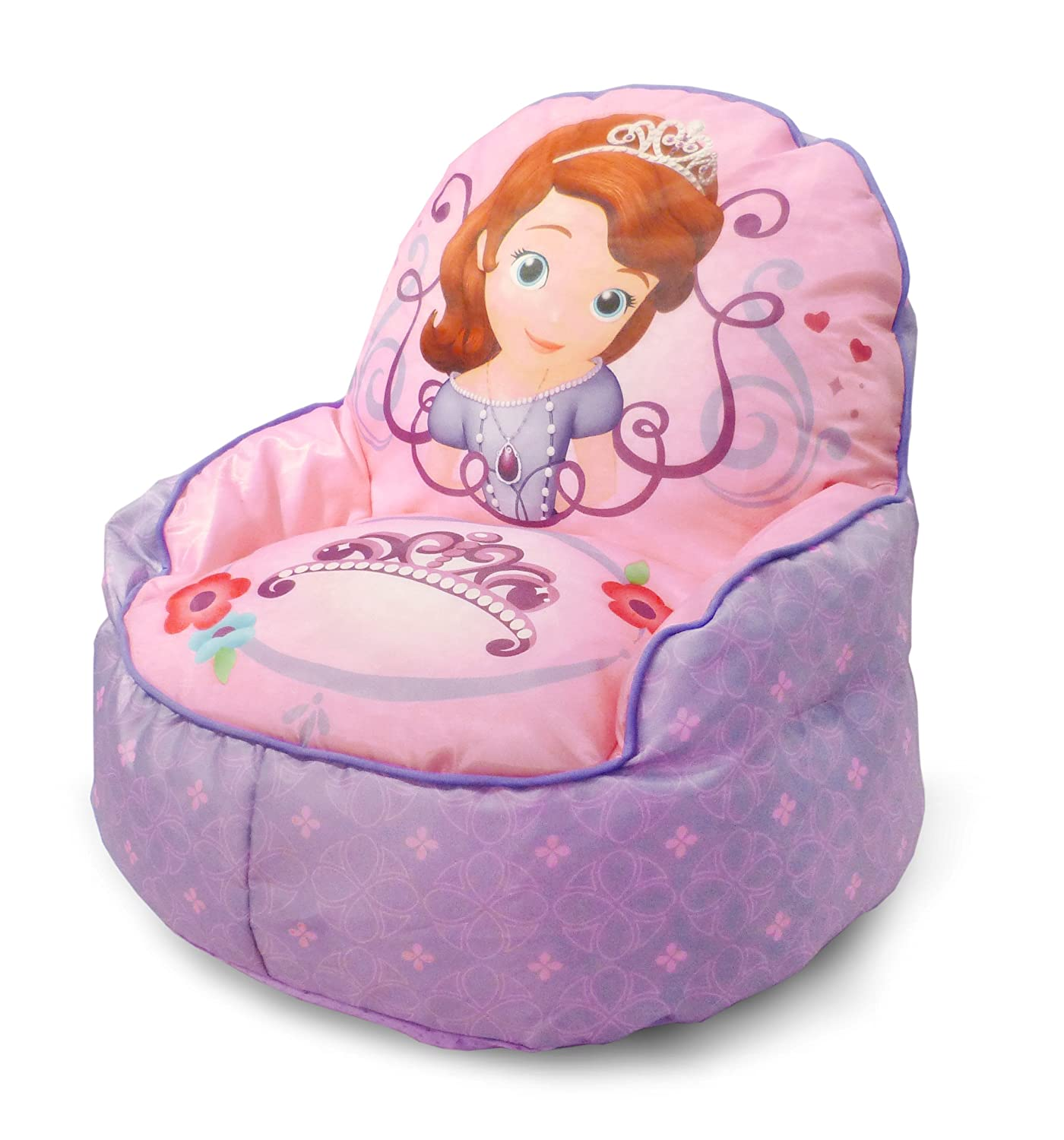 Disney Sofia The 1st Toddler Bean Bag Sofa Chair