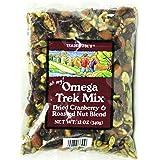 Trader Joe's Omega Trek Mix with Dried Cranberries & Roasted Nut Blend (12 Oz)
