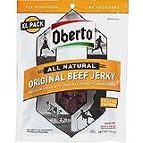 Oberto All Natural Original Beef Jerky, 10 Ounce (Tamaño: Extra Large)
