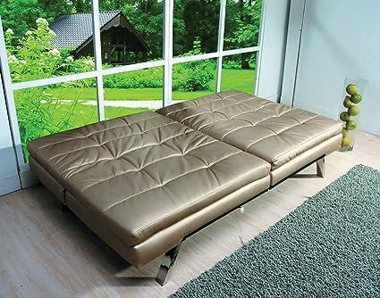 Acme 57004 Devan Adjustable Sofa, Champagne Finish