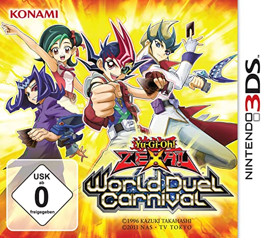 Yu-Gi-Oh! Zexal World Duel Carnival, 3DS
