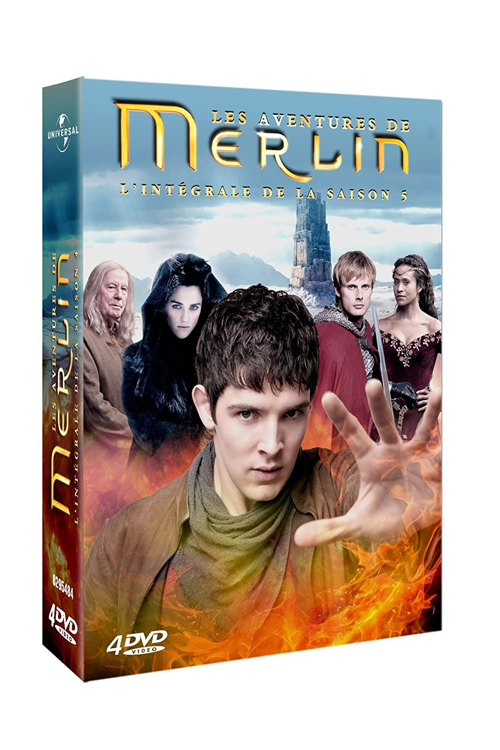 merlin saison 5 en dvd aujourd hui les accros aux s ries. Black Bedroom Furniture Sets. Home Design Ideas