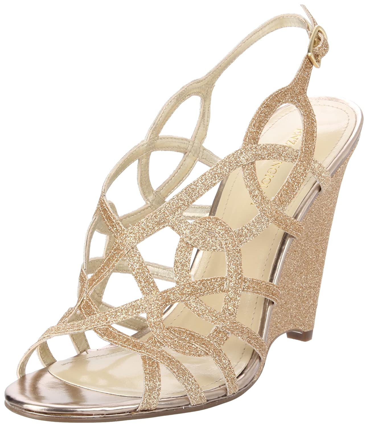 Gold / Ivory Wedges For Outdoor Wedding - Weddingbee