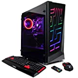 CYBERPOWERPC Gamer Xtreme GXi10862OPT Gaming PC (Intel i5+ 8400 2.8GHz CPU, 8GB DDR4, NVIDIA GeForce GTX 1050 Ti 4GB, 1TB HDD, 16GB Intel Optane, WiFi & Win10 Home) Blk (Color: Video Card: NVIDIA GeForce GTX 1050 Ti 4GB)