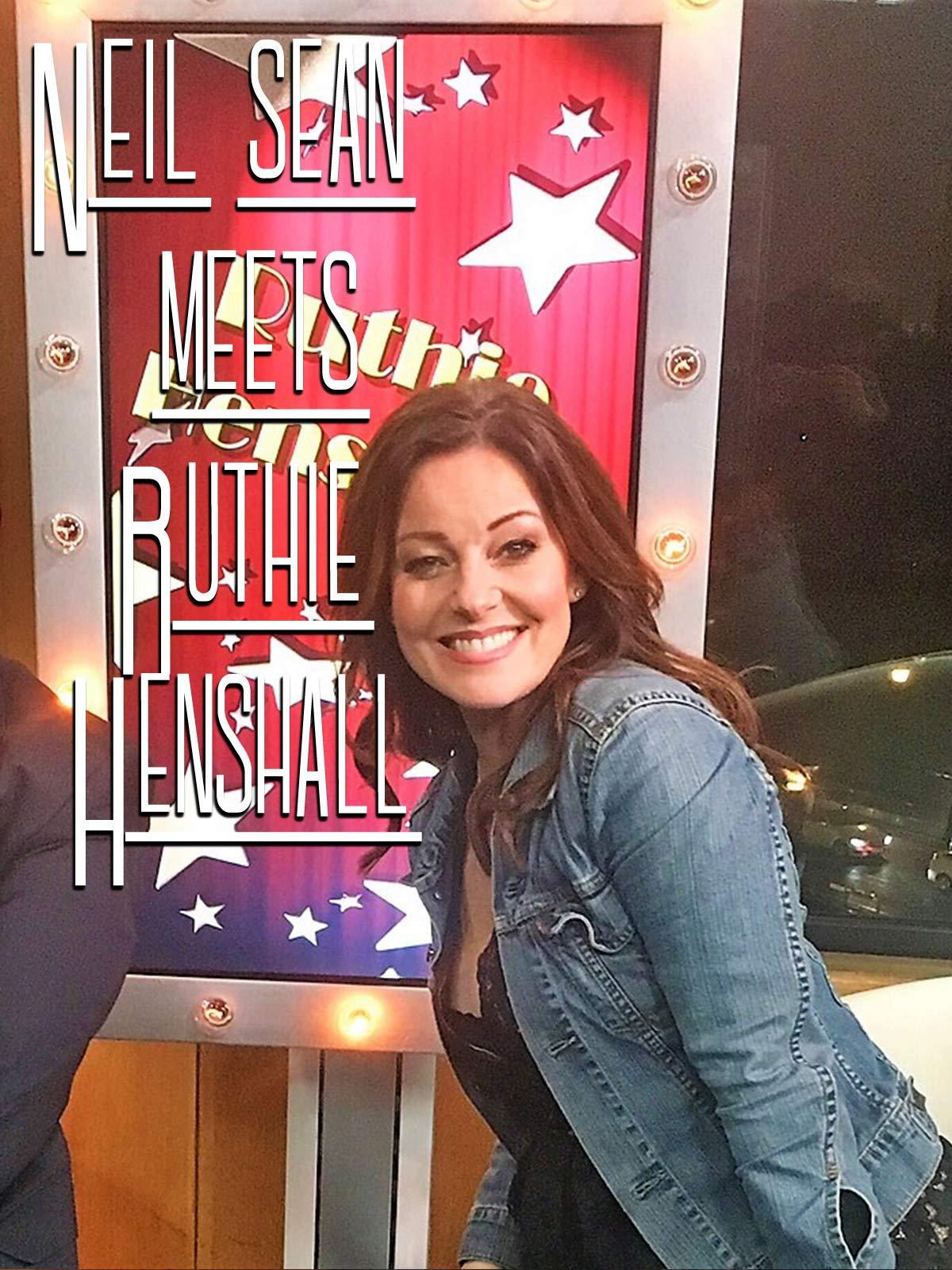 Neil Sean meets Ruthie Henshall