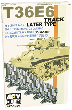 T36E6 Track Later Type