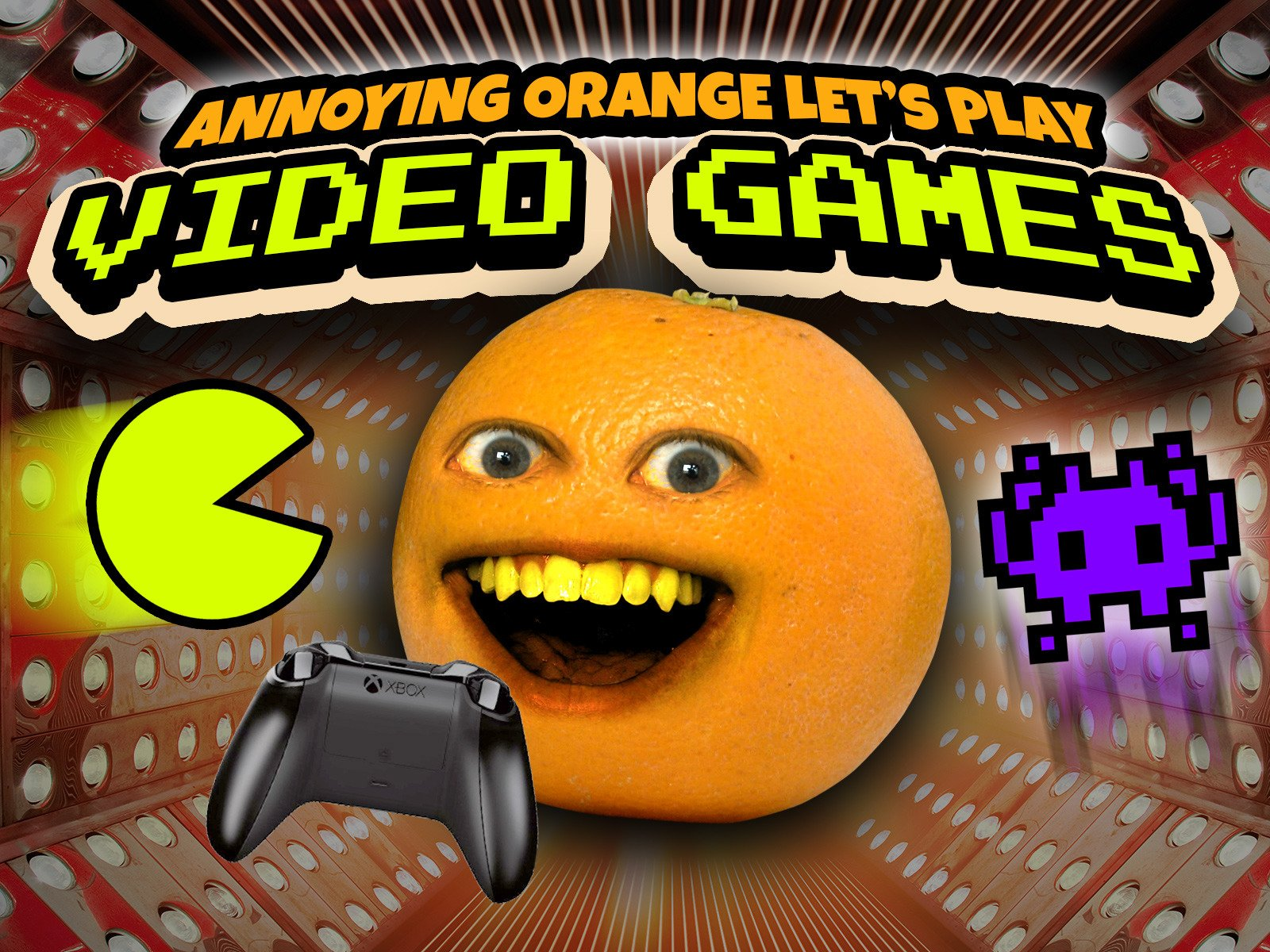 Clip: Annoying Orange Let's Play Video Games! - Season 1