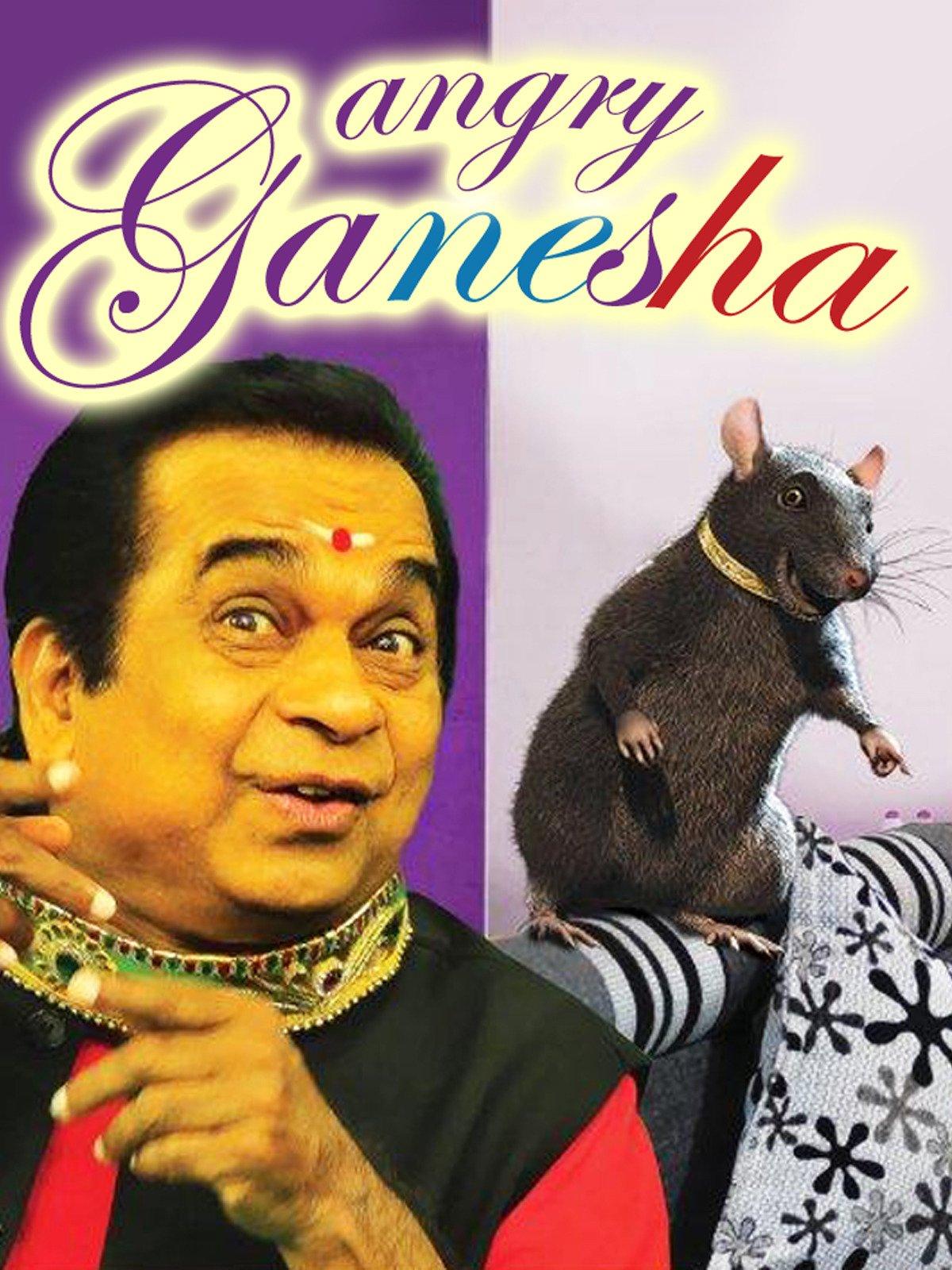 Angry Ganesha