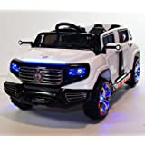 4 door  car Style Battery Operated Ride On Car Toy With Remote Control. rideONEcar SX1528-WHITE