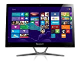 Lenovo C540 23-Inch All-In-One Touchscreen Desktop (Black/Brushed Aluminum)