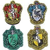 Harry Potter House of Gryffindor, Ravenclaw, Hufflepuff, Slytherin House Hogwarts Crest Patch 3.94