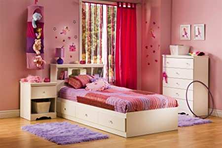 Crystal Twin 4 Piece Bedroom Set