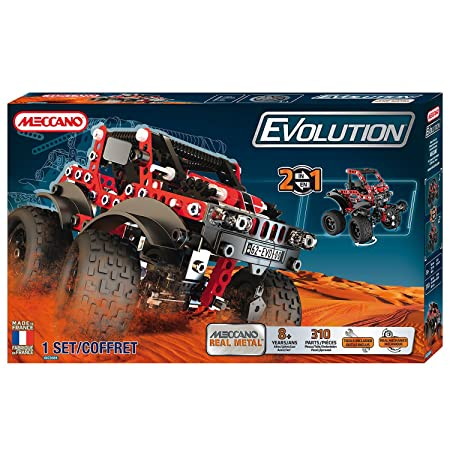 Meccano - 866200 - Jeu de Construction - 4 x 4 Evolution