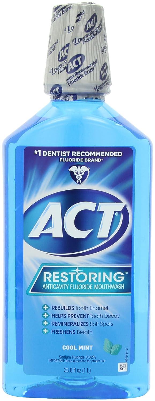 Act Restoring Mouthwash Amazon.com Act Restoring