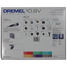 Dremel 8000-03 10.8-Volt Lithium Ion Cordless Rotary Tool