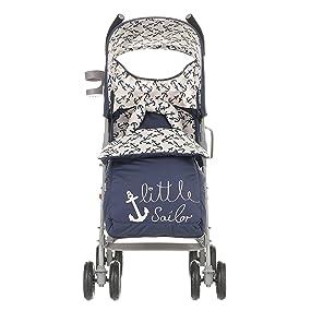Handy cup holder on side of stroller