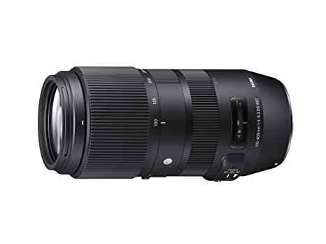 Sigma 729955 100-400mm f/5-6.3 DG OS HSM Contemporary Lens for Nikon DSLR (Black) at amazon